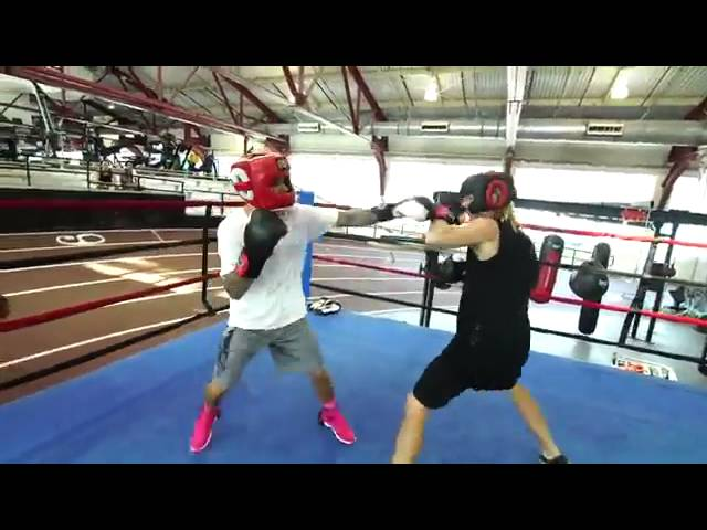 Justin Bieber boxing match with Rory Kramer