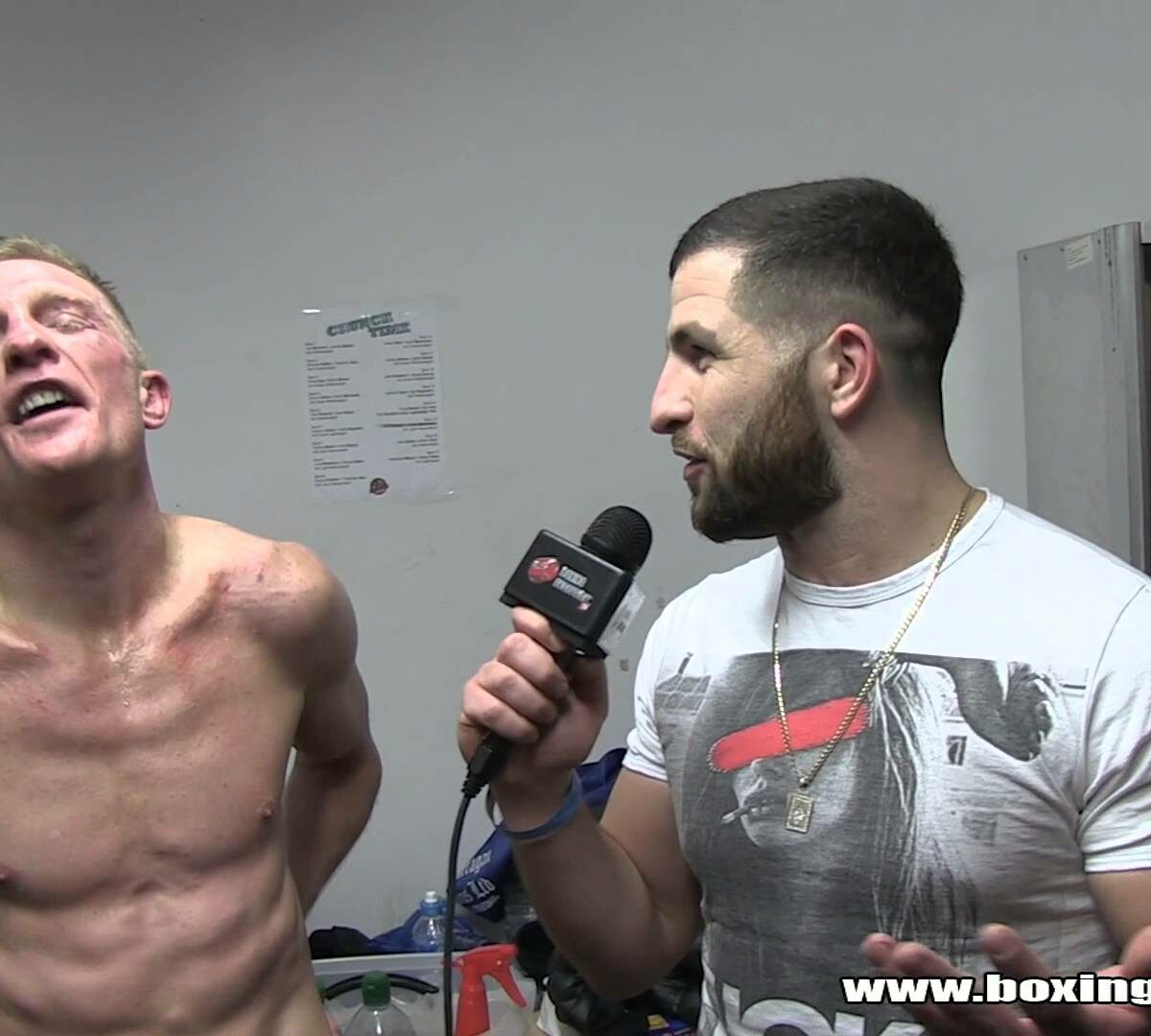 Flave interviews Ben Day after his southern area title bid against Floyd Morre