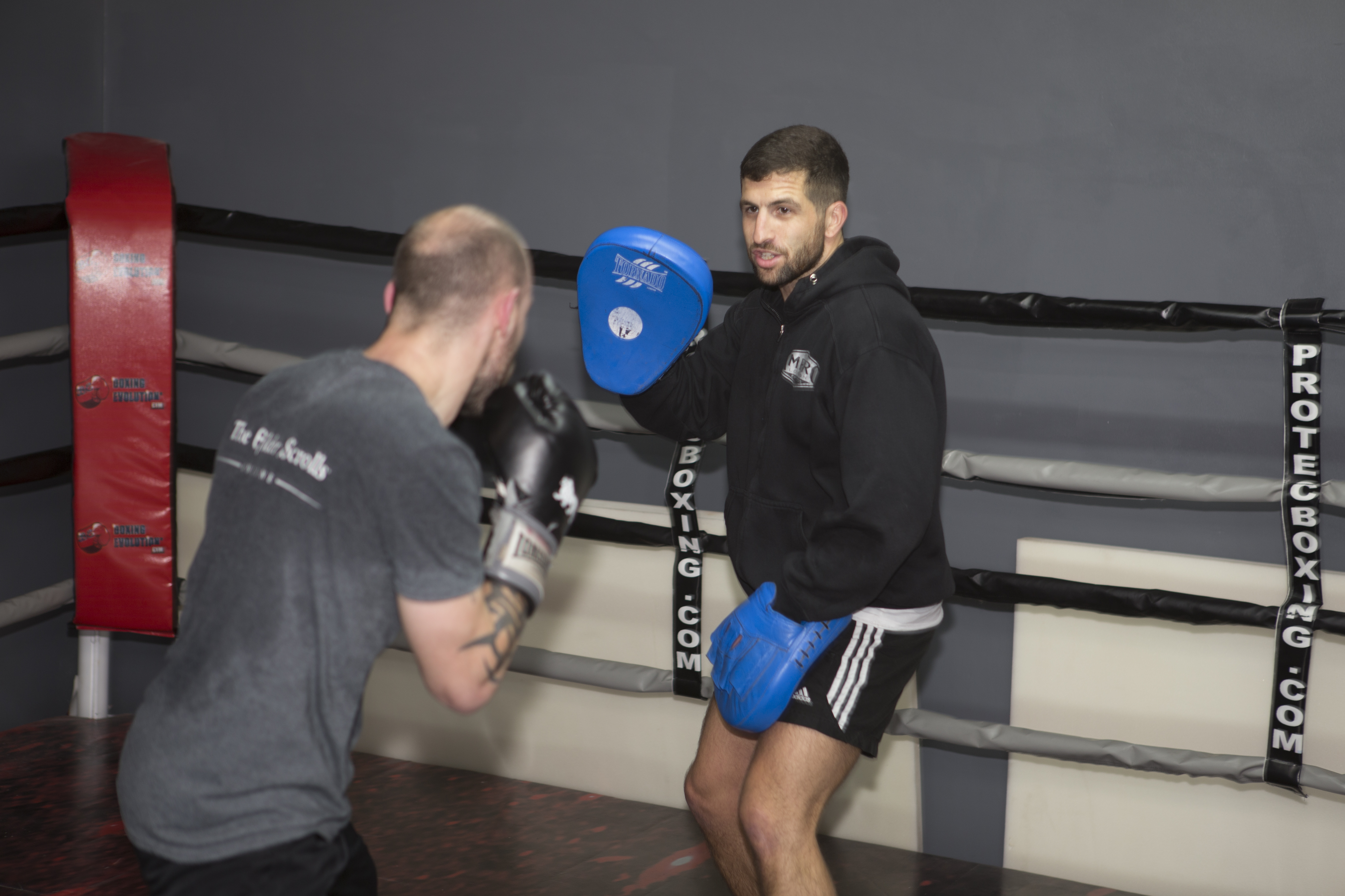 Personal boxing fitness training