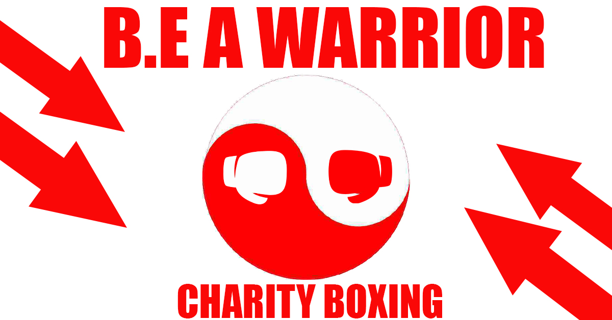 be a warrior boxing event ad