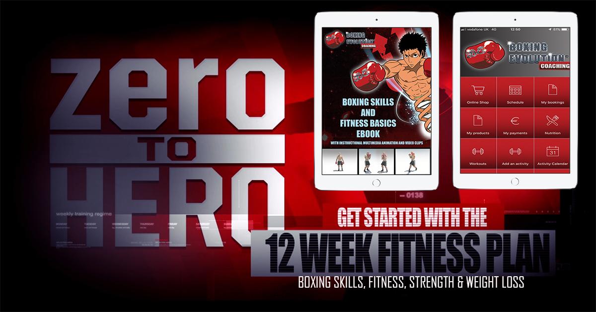 12 week fitness plan - ae screenshot
